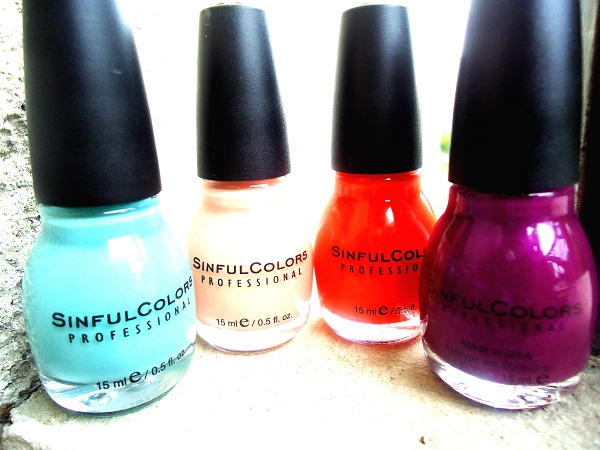 vernis sinfulcolors ete 2013