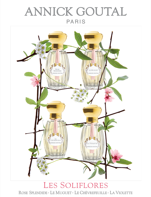 Les Soliflores Annick Goutal Collection Ete 2013