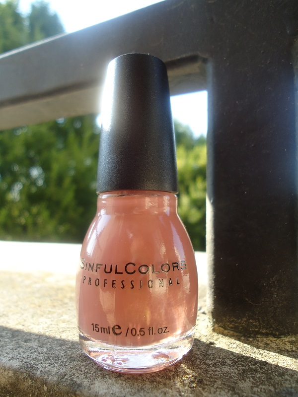 """Vernis  809  """"Vacation Time"""" SinfulColors, collection """"Romance Couture"""""""
