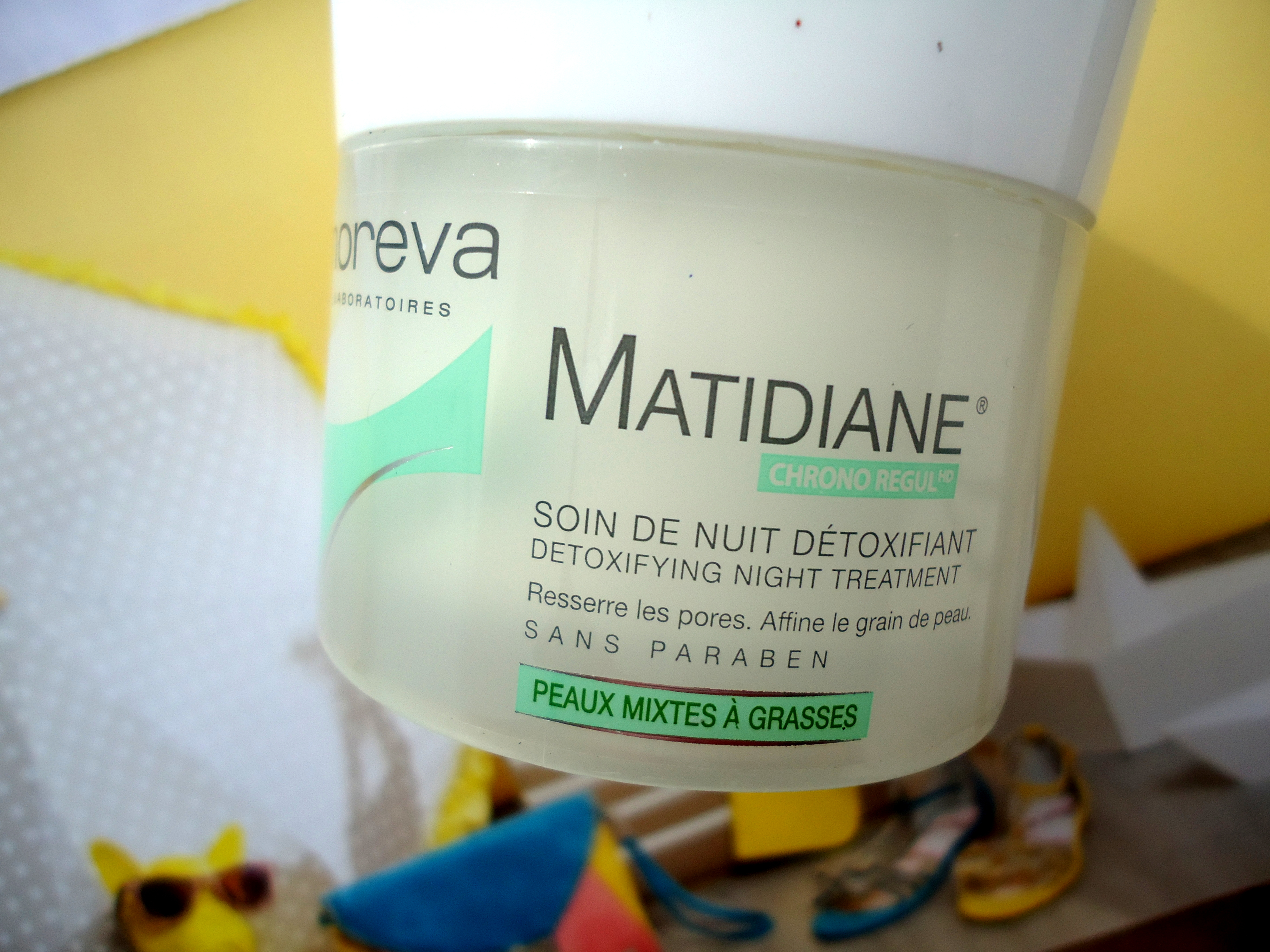 soin nuit peau grasse